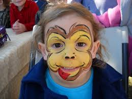 baboon face paint drawing art gallery