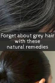 can gray hair turn black again this is a very simple treatment to get rid of gray hair no hair