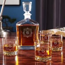 Crown Royal Gift Set Dining Perfect Drink With Luxurious Collection Of Decanter Set