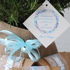 seed favors burlap and lace party favors you can make here s how