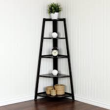 Corner Bakers Rack Furniture Minimalist Tall Corner Shelf Belham Living Van Alen