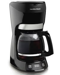 Coffee Pot hamilton 12 cup coffee maker with digital clock 1