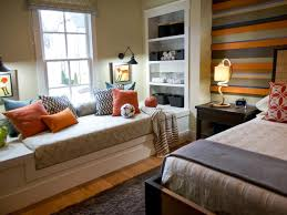 Diy Built In Bookshelves Plans Window Seat With Bookshelves Traditional Bedroom Well Appointed