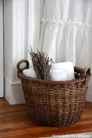 Decorate Bathroom Towels Cozy Ideas Bathroom Basket Best 25 Baskets On Pinterest Signs For