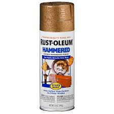 shop rust oleum stops rust copper hammered enamel spray paint
