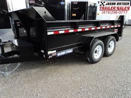 scissor st 2018 sure trac 82x12 low pro scissor hoist dump trailer stock