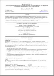 Resume Sample Objectives For Nurses by Nurse Nurse Resume
