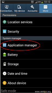 application manager android how to scan and clean your android device from adware virus