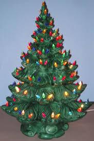 ceramic light up christmas tree green ceramic christmas tree lights home design and decorating