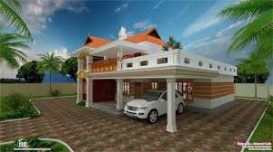 2700 sq feet beautiful villa design kerala house design idea