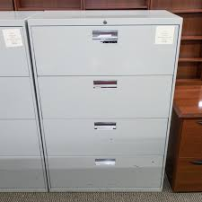 Hon 36 Lateral File Cabinet Used Hon 4 Drawer 36 Lateral File Cabinet Gray Fil1541 002