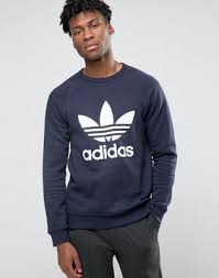 mychicpicks adidas originals trefoil crew sweatshirt ay7793