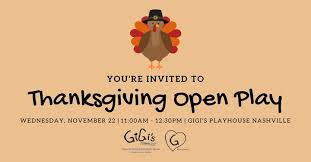 open play gigi s playhouse nashville brentwood 22 november