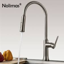 kitchen pull out faucet kitchen faucet brass pull out faucets stainless steel brushed