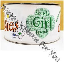 3 grosgrain ribbon girl scout 3 grosgrain ribbon prettyribbonsforyou