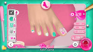 toe nail salon game android apps on google play