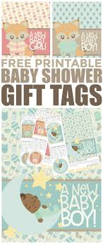 baby shower gift free printable baby shower gift tags frugal eh