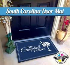 Personalized Outdoor Rugs Custom Family Name Welcome Mat Doormat Rug 2 Sizes High