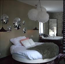 chambre avec lit rond chambre deco décoration chambre avec lit rond