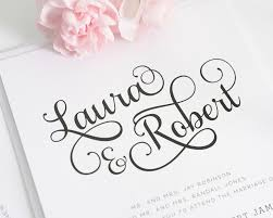Wedding Invitation Quotes And Sayings Sweet And Romantic Wedding Invitations With Large Script U2013 Wedding