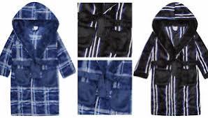 robe de chambre ado garçons adolescent peignoir robe de chambre polaire à capuche hiver