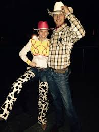 jessie and woody halloween costumes woody and jessie halloween costume crafts u0026 diy pinterest
