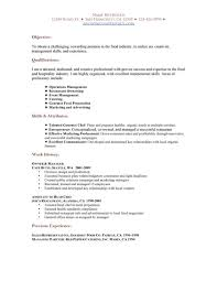 Functional Resume Templates Free Cover Letter Hospitality Resume Templates Free Free Hospitality