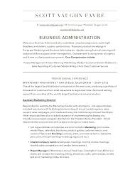 Business Administration Resume Examples by Download Business Administration Resume Haadyaooverbayresort Com