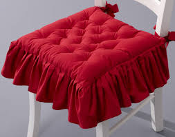 galette de chaise style campagne galette de chaise capitonnée c o s t u r a u0026 m a t e r i a l e