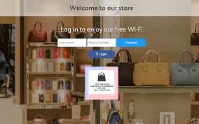 Walled Garden Login by In Store Wi Fi For Retail Shops Tanaza Wifi For The Retail Industry