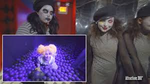 4k haunted circus with ball pit queen mary u0027s dark harbor 2017
