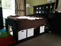 Platform Bed With Storage Underneath Size Bed Frame Ikea Frames With Storage Platform And