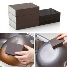 sponge carborundum brush kitchen washing cleaning kitchen cleaner