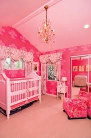 cream and pink nursery crib design ideas