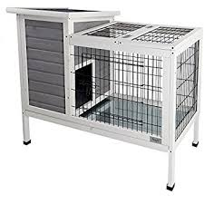 Rabbit Hutch Makers Amazon Com Ware Manufacturing Premium Plus Hutch For Rabbits And