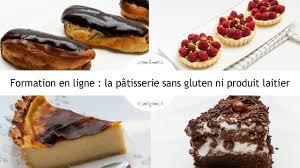 formation cuisine patisserie formation la pâtisserie sans gluten ni lait