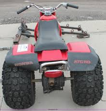 1983 honda atc 110 atv item e3412 sold june 11 city of
