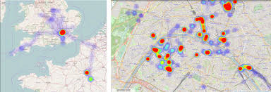 Map My Route Google by Create A Heat Map From Your Google Location History In 3 Easy Steps