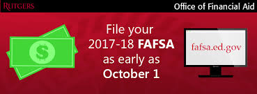 changes in how to apply for financial aid for 2017 2018 office