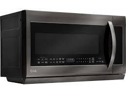 Lg Toaster Oven Lg 2 2 Cu Ft 1000 Watts Over The Range Microwave Oven Black