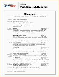 Objective For Resume Internship Resume Exles For Students 28 Images Resume Sle For Part Time