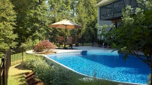 Above Ground Pool Patio Ideas Pool In Ground Pool Kits Fiberglass Inground Pool Kit Above