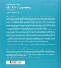 introduction to machine learning ethem alpaydin 9780262012430