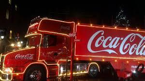 thousands visit coca cola christmas truck in wrexham wrexham com