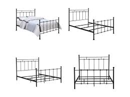 Queen Size Headboards And Footboards by Best 25 Metal Bed Frame Queen Ideas On Pinterest Ikea Bed