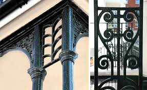 Victorian Banister Period Character Guide Metalwork Period Living