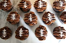 football cupcakes chocolate football cupcakes just a sliver