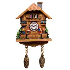 Clock Made Of Clocks by Furniture Unique Cuckoo Clock Made Of Wood In Home Design For