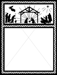 free christian christmas border clipart clipart collection