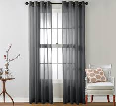 Luxury Linen Curtains Charcoal Sheer Linen Curtains S Track Google Search Family